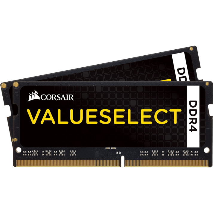 Memorie laptop Memorie RAM Value Select, SODIMM, DDR4, 2x4 GB, 2133 MHz, CL15, 1.2V, kit