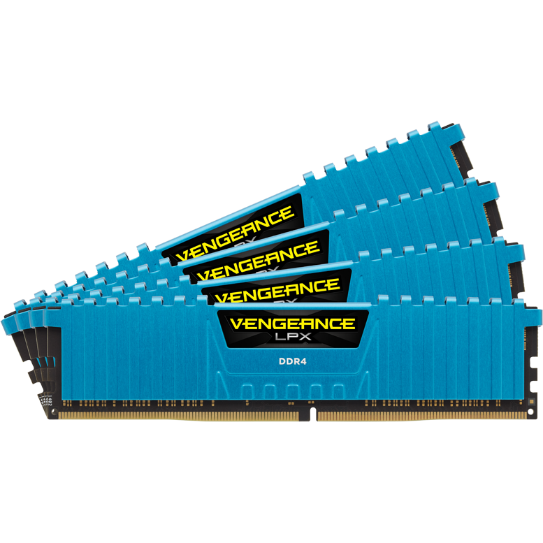 Memorie Vengeance LPX, DDR4, 4 x 4 GB, 2400 MHz, CL14, kit