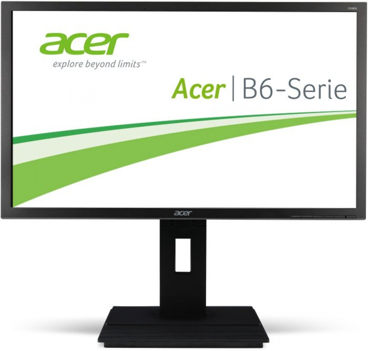 Monitor LED B246HL, 16:9, 24 inch, 5 ms, gri inchis
