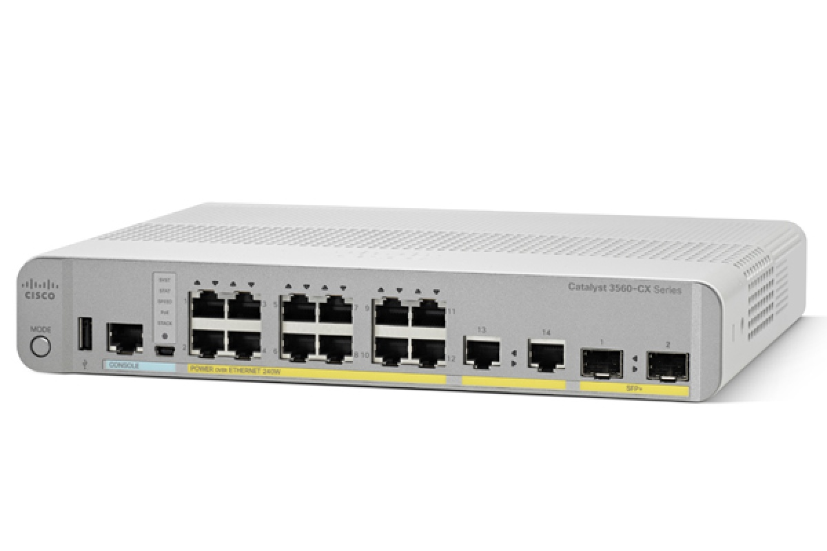 Switch CATALYST 3560-CX 2 X MGIG