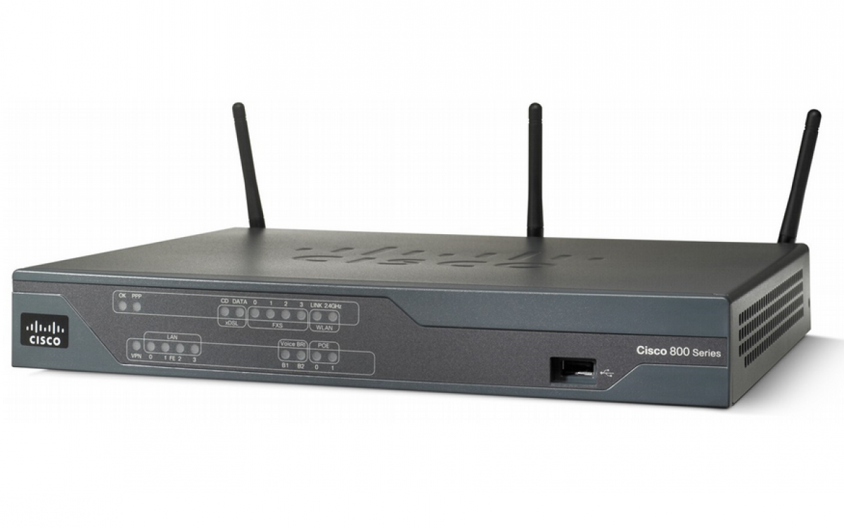 Router wireless 881 ETH SEC ROUTER WITH 802.11n ETSI thumbnail