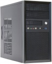 Carcasa Chieftec Mesh CT-01B, mini Tower, neagra, sursa 350 W