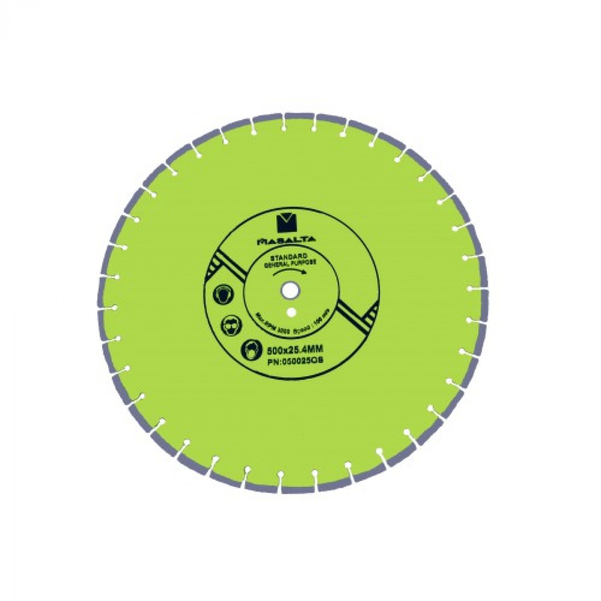 Disc diamantat uz general 500x25.4mm (20)