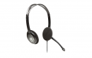 Casti V7 + AUDIO STDRD HEADSET Black \ Silver