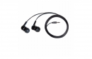 Casti V7 + AUDIO IN-EAR EARBUDS BLACK