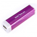Serioux SRX P-BANK 201PP 2200MAH 0.8A/1A PURPLE