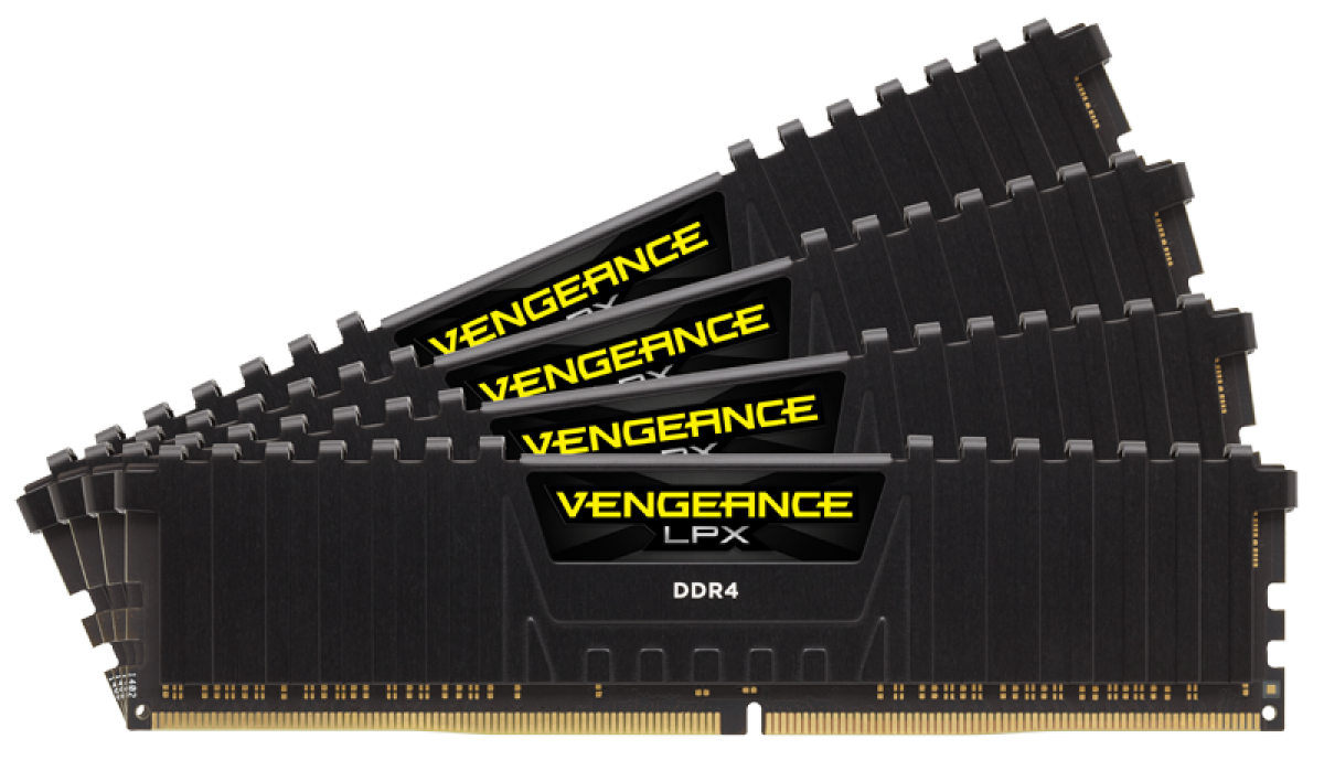 Memorie Vengeance LPX, DDR4, 4 x 16 GB, 2133 MHz, C13, kit