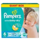 PAMPERS Scutece Active Baby 6 ExtraLarge Giant Pack, 66 bucati