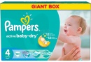 PAMPERS Scutece Active Baby 4 Giant Pack, 90 bucati