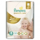 PAMPERS Scutece Premium Care 4 Maxi Small Pack, 20 bucati