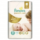 PAMPERS Scutece Premium Care 5 Junior Small Pack, 18 bucati