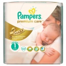 PAMPERS Scutece Premium Care 1 New Baby Small Pack, 22 bucati