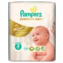 PAMPERS Scutece Premium Care 3 Midi Small Pack, 20 bucati