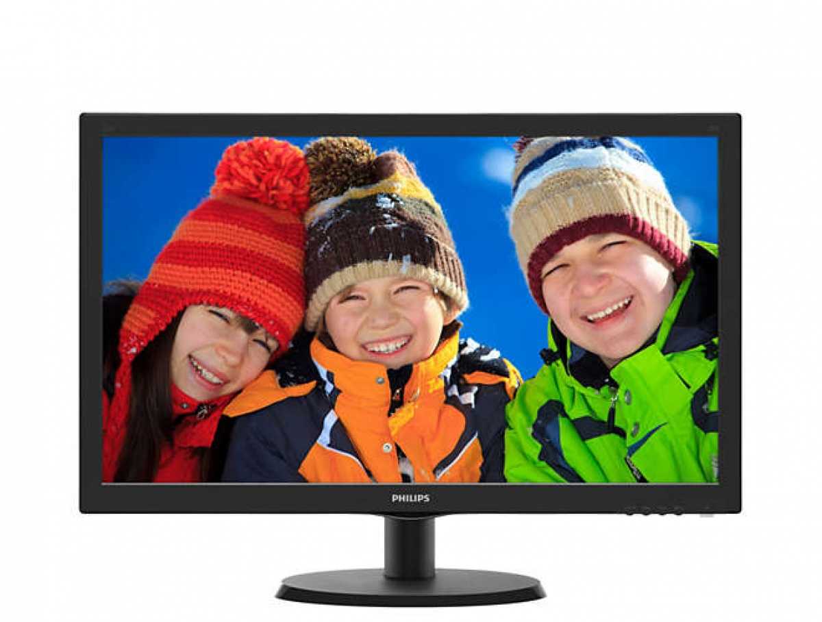 Monitor LED 223V5LHSB2/00, Full HD, 16:9, 21.5 inch, 5 ms, negru thumbnail