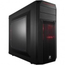 Carcasa Corsair Midi Spec-02 black , Red LED , Tower