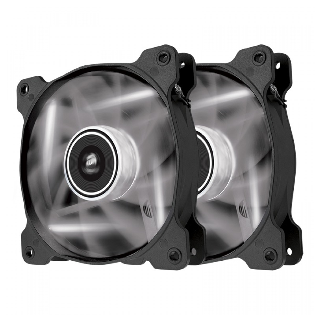 Case Fan 140 mm Corsair SP140 LED White (pachet 2 bucati) thumbnail