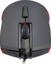 Mouse Cougar 230M, optic, USB, 3200 dpi, negru/ rosu