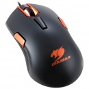 Mouse Cougar 250M, optic, USB, 4000 dpi, negru/ portocaliu