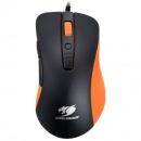 Mouse Cougar 300M, optic, USB, 4000 dpi, negru/ portocaliu