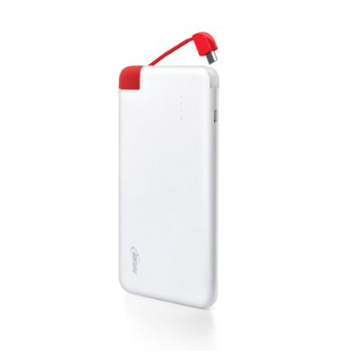 Baterie externa Power bank HAME-T5, 4000mAh, White/Red thumbnail