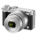 Aparat foto digital Nikon 1 J5 Kit 10-30mm VR PD-Zoom (silver)