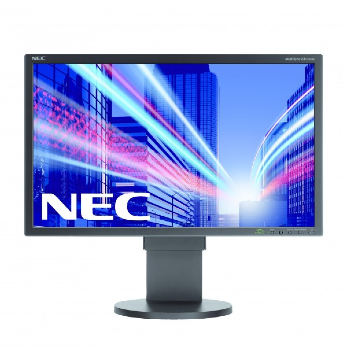 Monitor LED MultiSync E223W, 16:10, 22 inch, 5 ms, negru