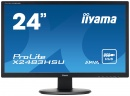 Monitor LED Iiyama ProLite X2483HSU-B2, 23.8 inch Full HD, 16:9, 4 ms, negru