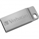 Memorie USB Verbatim Metal Executive, 64 GB, USB 2.0, argintiu