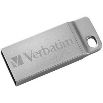 Verbatim Metal Executive, 16 GB, USB 2.0, argintiu
