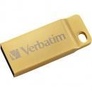 Memorie USB Verbatim Metal Executive, 64 GB, USB 3.0, auriu