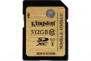 Card memorie Kingston SD 512GB, UHS-1, Negru