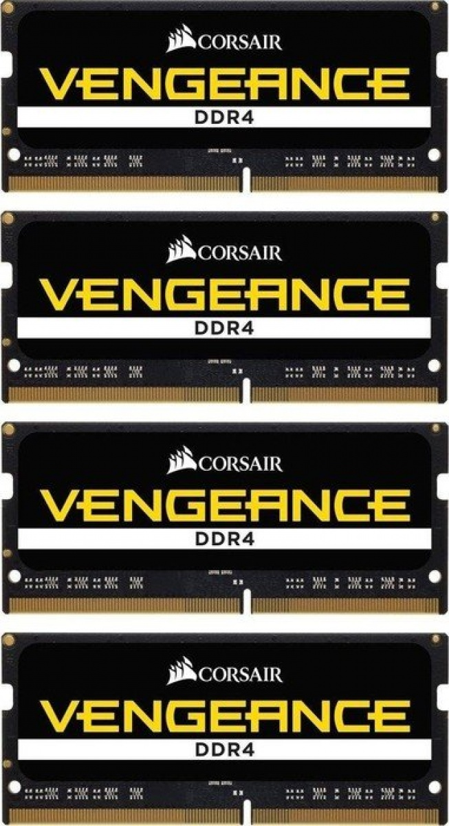 Memorie laptop Vengeance, DDR4, 4 x 16 GB, 2666 GHz, CL18, 1.2V, kit