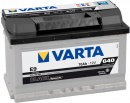 Varta ACUMULATOR  12V BLACK DYNAMIC E9 70Ah 640A 0-1 B13 TH=175 570 144 064 312 2