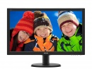 Monitor LED Philips V-Line 240V5QDSB/00, 16:9, 23.8 inch Full HD, 5 ms, negru