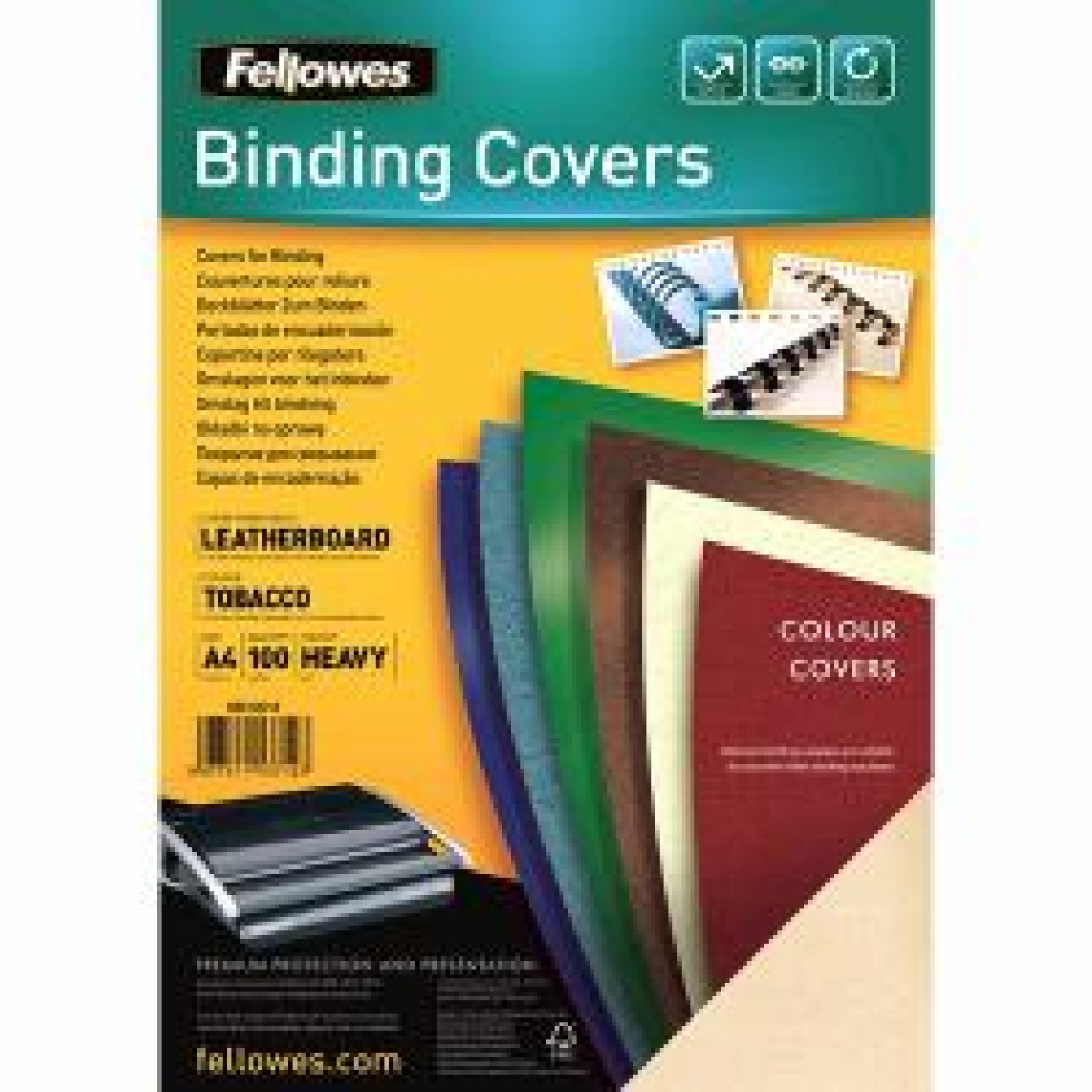 Binding cover (leather pattern) DELTA A3 FSC 5374001, 100 buc, ivory
