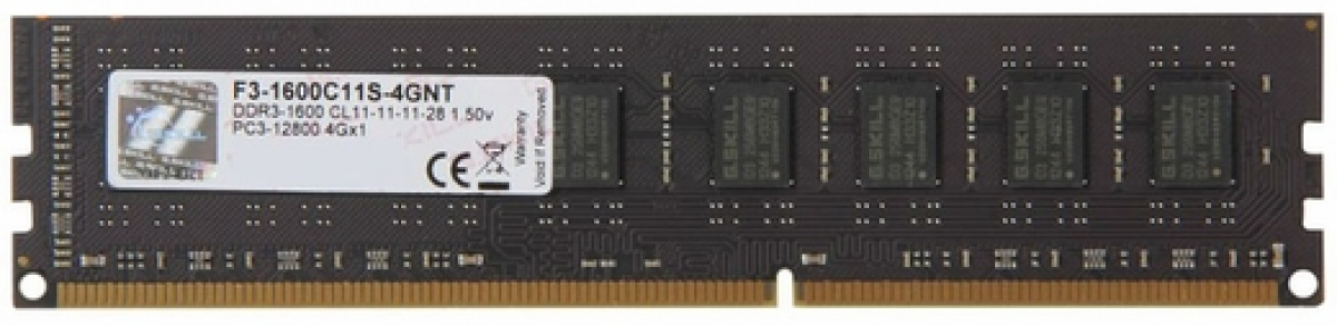 Memorie Value, DDR3, 4GB, 1600 MHz, CL11