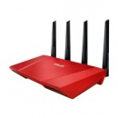 Router wireless WLAN Router wireless 2400mb Asus RT-AC87U RED