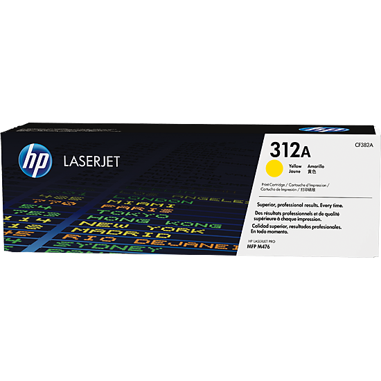 Toner 312A CF382A Yellow
