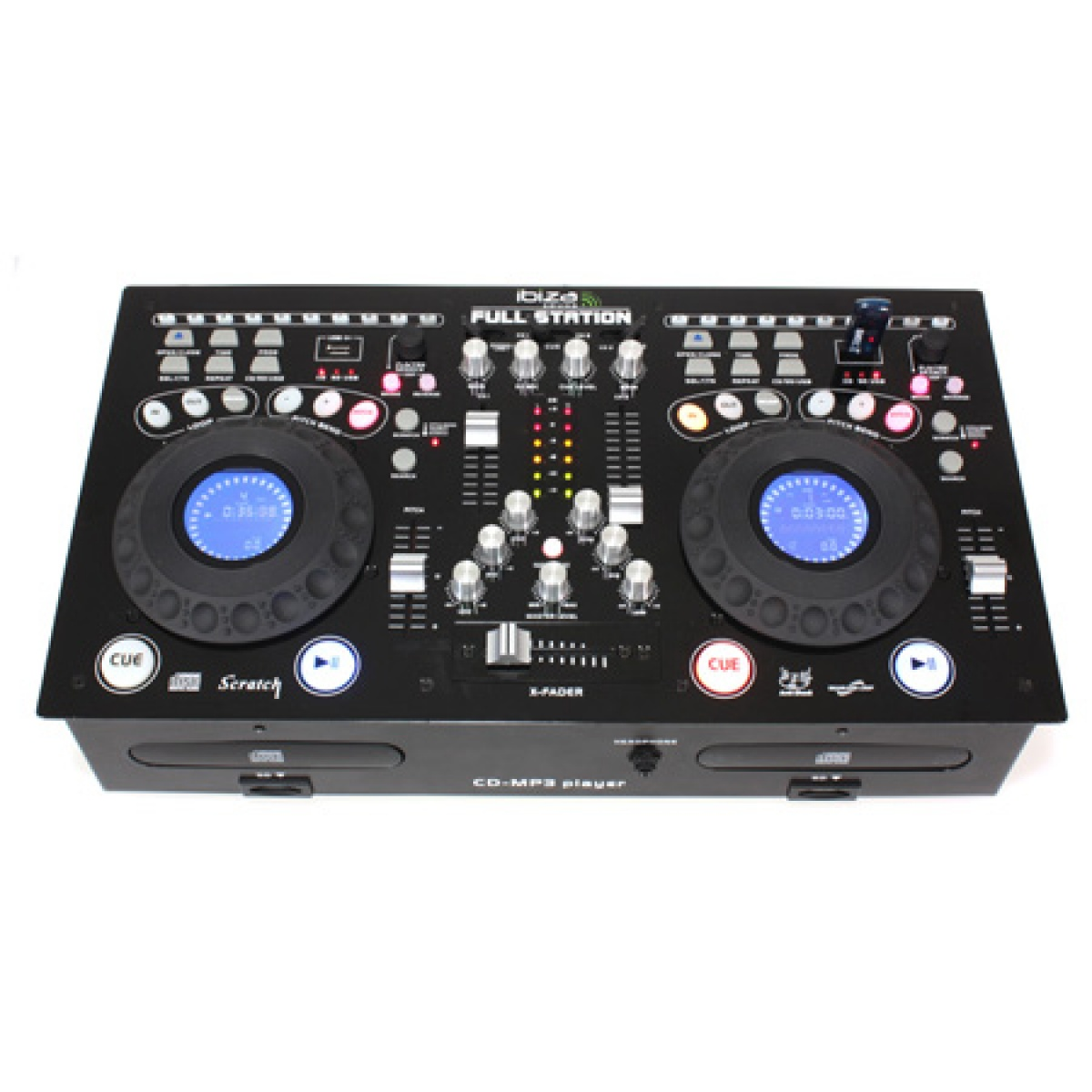Consola DJ CONSOLA PROFESIONALA CU CD/USB/SD PLAYER DUAL
