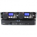 Consola DJ DJ-Tech DUAL CD-MP3/USB/SD PLAYER + SCRATCH