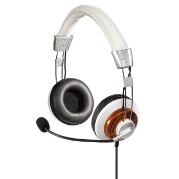 Casti 53991, PC-HEADSET HS-320, albe