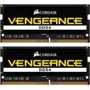 Memorie laptop Corsair Vengeance, DDR4, 16 GB, 2666 GHz, CL18, 1.2V, kit