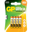 Baterie alcalina R3 (AAA) 4 buc/blister Ultra GP - pret per baterie