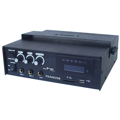 Consola DJ AMPLIFICATOR PA 60W CU USB/SD-MP3