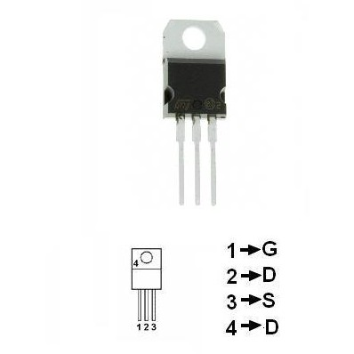 TRANZISTOR MOSFET CANAL N 9A 75W IRF630