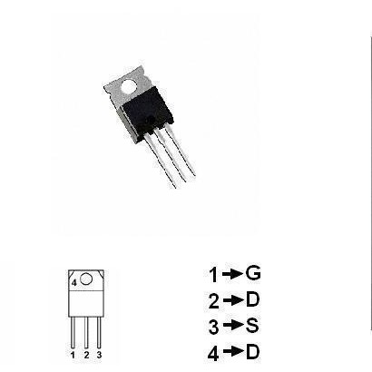TRANZISTOR MOSFET CANAL P 200V 6.5A 74W