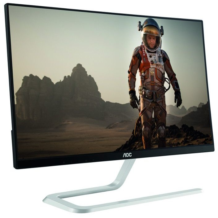 Monitor LED I2381FH 23 inch 4 ms Black/Silver