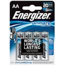 Acumulator 7638900262643, ENERGIZER Ultimate Lithium, AA, L91, 1.5V, 4 pcs