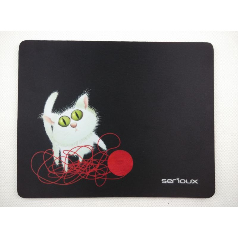 Mousepad MOUSE PAD SERIOUX MSP01