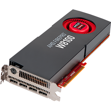 Placa video FIREPRO W8100 8GB GDDR5